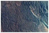 Seguimiento de las avalanchas a lo largo de los acantilados en los depósitos estratificados del Polo Norte