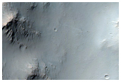 Possible Al-Clay Near Columbus Crater