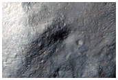 Crater with Steep Slopes