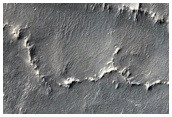 Inverted Polygonal Terrain on Mesa Top in Schoner Crater