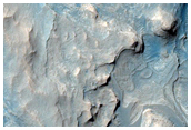 Monitor Slopes Near Curiosity Rover in Gale Crater