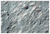 Mars 6 Descent Region Near Samara Valles