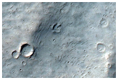 Ejecta Blanket at Bam Crater