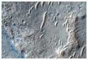 Wrinkle Ridges in West Meridiani Planum