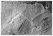 Ridges in Hellas Planitia