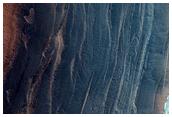 Steep North Polar Peripheral Scarp