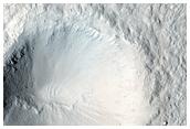Infrared-Distinct Crater