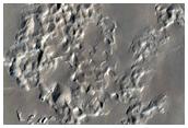 Mound on Crater Floor
