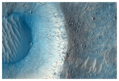 Fresh Crater in Kasei Valles