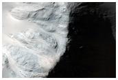 Eastern Rim of a Crater in Terra Cimmeria