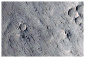 Pit or Slump in Crater Floor