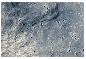 Landforms in Aeolis and Zephyria Regions