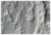 Bedrock on Crater Floor