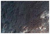 Bedrock in Ladon Valles