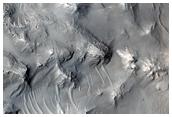 Layered Terrain in Pasteur Crater