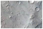 Recent Impact Crater