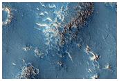 Flows Northwest of Elysium Mons