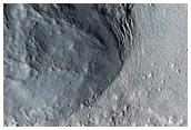 Sample Terrain North of Rudaux Crater
