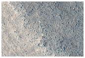 Grooved Surface on Mesa in Deuteronilus Mensae