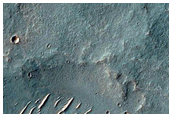 Potential Hydrated Mineral Deposit Near Protva Valles
