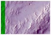 Thin Ius Chasma Landslide