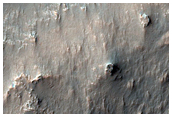 Mound with Gullies and Channels in Northern Hellas Planitia