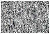 Landforms North of Acheron Fossae