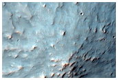 Edge of Crater Ejecta
