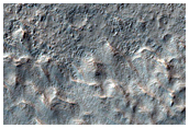 Possible Layers in Crater Ejecta in Terra Cimmeria