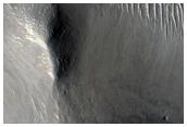 Layered Mesa in Western Elysium Planitia