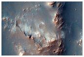 Olivine and Low Calcium Pyroxene-Rich Mound Wall in Tyrrhena Terra
