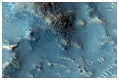 Valley in Libya Montes