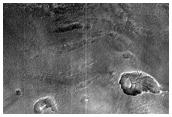 Terrain in Lyot Crater