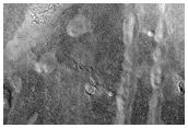 Lines of Mounds in Deuteronilus Mensae