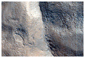 Ridges and Valleys in Northwestern Tempe Terra