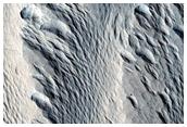 Medusae Fossae Erosional Features