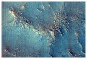 Mound in Valley System in Idaeus Fossae