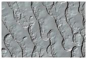 South Polar Residual Cap Thumbprint Terrain