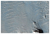 Terrain Sample in Olympus Maculae