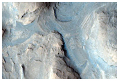 Monitor Region Near Curiosity Rover