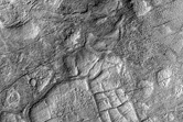 Network of Ridges in Hellas Planitia