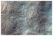 South High-Latitude Mesa in Mariner 9 DAS 6173723 and 7648483