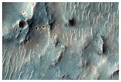 Mound Feature in Terra Sabaea Intercrater Plain