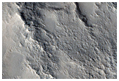 Ridge in Isidis Planitia