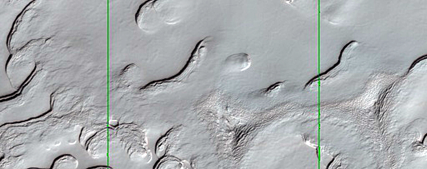 Surface of South Polar Residual Cap