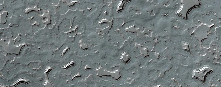 Pits on South Polar Residual Cap
