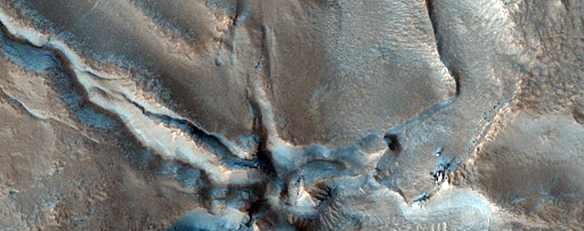 Fractured Surface in Northern Mid-Latitudes