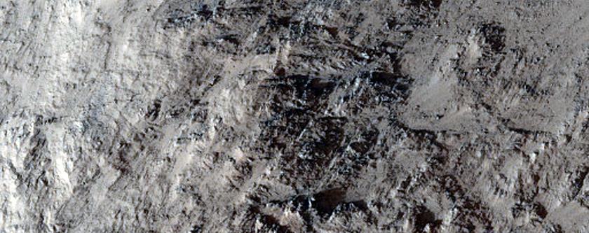 Ridge Inside in Candor Chasma
