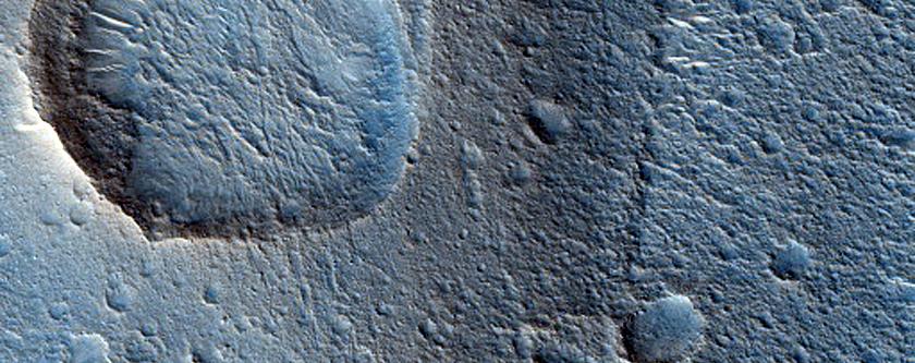 Cone in Chryse Planitia