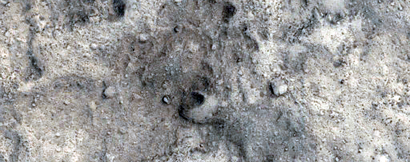 Candidate ExoMars Landing Site in Aram Dorsum